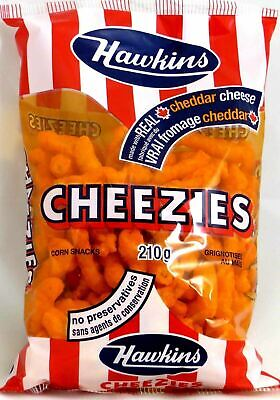 Hawkins Cheezies, 210g/7.40 Ounces, 12 Pack