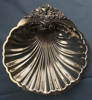 Vintage Wallace Baroque Serving Silver-Plate Candy-Nut Dish #278