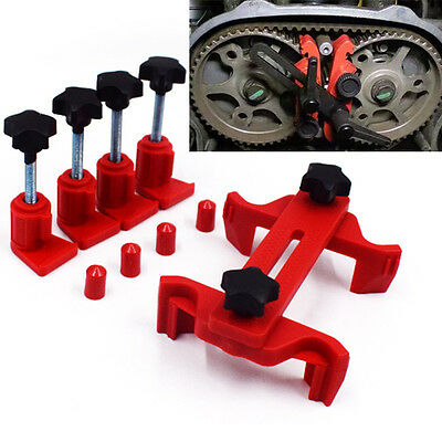 Dual Cam Clamp Camshaft Timing Sprocket Gear Locking Tool New Arrival