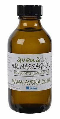 Arthritis & Rheumatism Massage Oil 250ml - Relieves pain, inflammation in joints