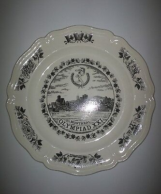 Wedgewood collector plate - Montreal Olympics