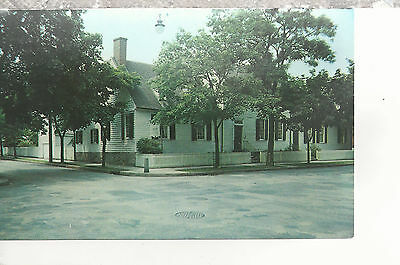 Home of Mary Washington  Fredericksburg  VA   Postcard 2227