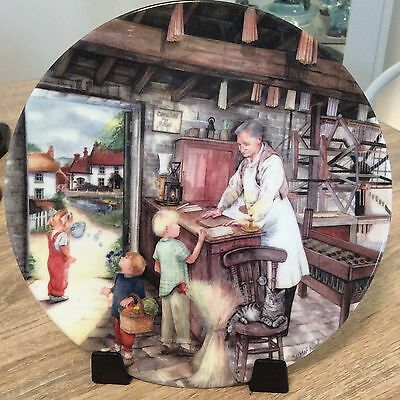 Royal Doulton The Candle Maker Plate Susan Neale