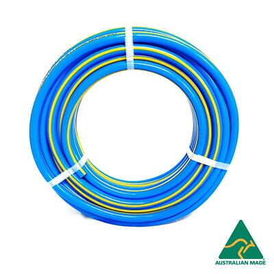 "Air Compressor Hose 10mm x 100m - Uniflex 3/8"" Australian Braided Air Tool Hose"