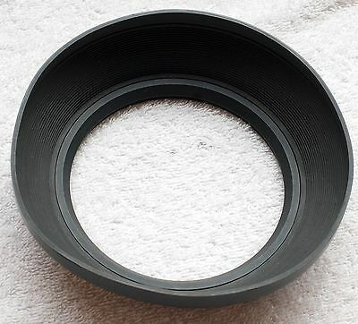 113mm 4.5 inch4 1/2 Round Rubber Lens Shade Wide Angle Hood Century Tiffen