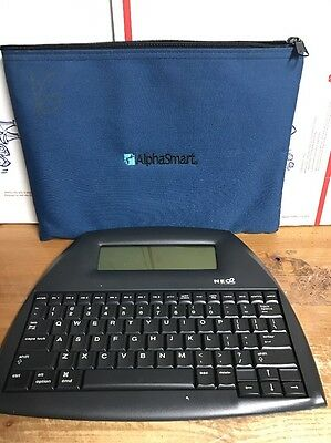 Neo 2 Word Processer Keyboard By Alphasmart w/Pouch -SAVE BIG $$$$