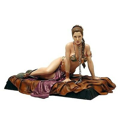 STAR WARS GENTLE GIANT PRINCESS LEIA as JABBA'S SLAVE STATUE