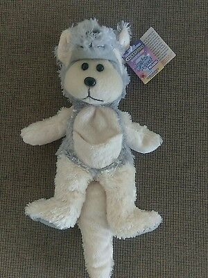 Beanie Kids - Atticus The Yellow-Footed Rock-Wallaby Bear (Mwmt)