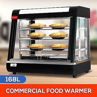 168L High Quality Commercial Display Pie Warmer 304 Stainless Steel Showcase