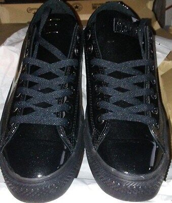 Converse Chuck Taylor All Star LO Low top ox BLACK tux prom wedding mens Shoes