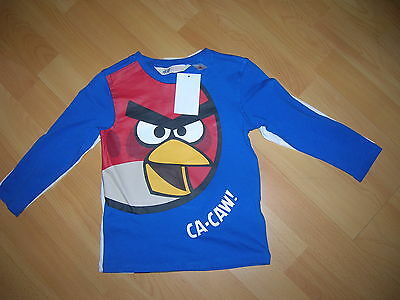 2 T-Shirts ANGRY BIRDS for Boy 1,5-2 years H&M