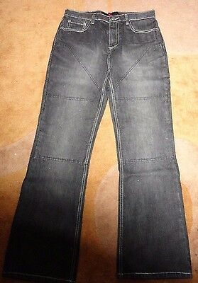 Hornee black motorcycle Jeans SA-M1 size 36