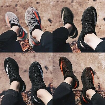 Sports Mens Yeezy 350 Boost Trainers Fitness Gym Sports Running Shock V2 Shoes