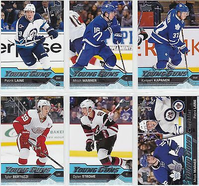 2016/17 UD Series 2 Young Guns Rookie Cards  U-Pick + FREE COMBINED SHIPPING!