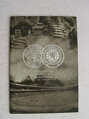 Celtic v Rangers 2005 Auld Firm Legends