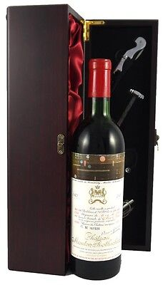 1971 Chateau Mouton Rothschild 1971 Vintage Red Wine Paulliac