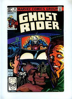 Ghost Rider #58 - Marvel 1981 - FN+ - UK Pence Variant
