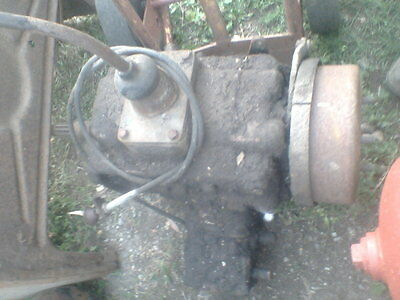 Ford F600 5 speed gear box , transmission with PTO drive   Nice