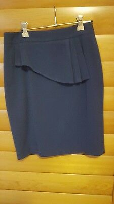 Review navy skirt size 8