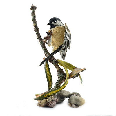 Country Artists - Coaltit on Conifer Figurine - 04981