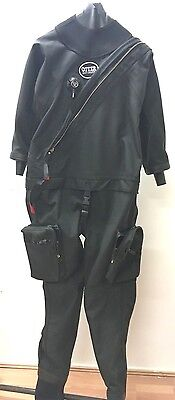 Otter Gents Britannic Telescopic Drysuit - Med/Large Socks 8/9/10/11/12 -31116