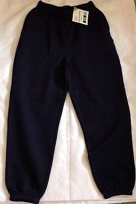 Navy Jogging Bottoms Age 9/10.