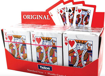 Pack Of 52 Tallon Playing Cards, Standard Size, Plastic Coated