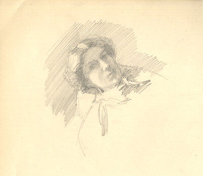 Mary Fairclough (b.1913) - Set of 4 Late 19th Century Graphite Drawing, Studies