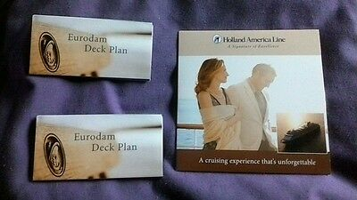 Holland America Promotional DVD and deck plans Eurodam