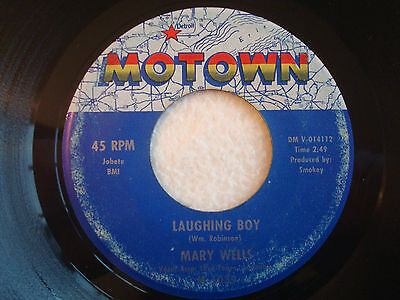 "Mary Wells ""Laughing Boy"" Motown 7"" 45 G+"