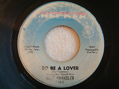 "Gene Chandler ""To Be A Lover"" Checker 7"" 45 G-"