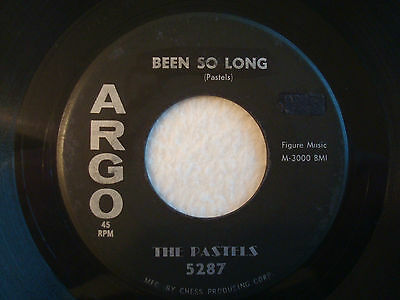 "The Pastels ""Been So Long"" Argo 7"" 45 G+"