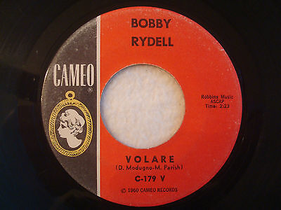"Bobby Rydell ""Volare"" Cameo 7"" 45 Strong VG"