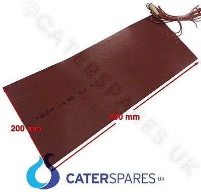 Self Adhesive Rubber Silicone Rectangle Heater Element For Servery Counter