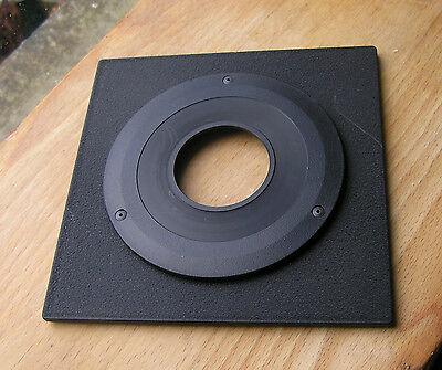 genuine Sinar F & P  lens board panel with copal compur 1 hole 4.5mm stand out