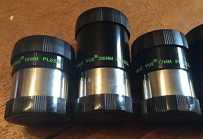 Astronomy Telescope Eyepiece ENDCAPS for Televue Smoothside Plossl 7.4mm to 26mm