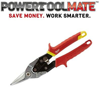 Milwaukee 48224030 Metal Snips Straight Cut 10in 260mm