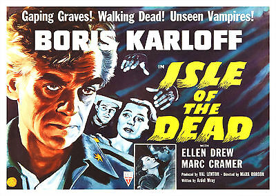 Isle of the Dead (1945) V2 - A1/A2 POSTER **BUY ANY 2 AND GET 1 FREE OFFER**