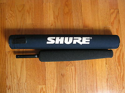 Shure Sm89 Shotgun Microphone With Wind Screen & Case In Excellent Condition