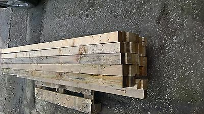 Reclaimed TIMBER 3 X 2 de-nailed 8ft long collection ONLY PR4 6XS Preston