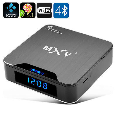 Android 5.1 TV Box - Wi-Fi, Bluetooth 4.0, H.265 Décodage, HDMI 2.0, Soutien KOD