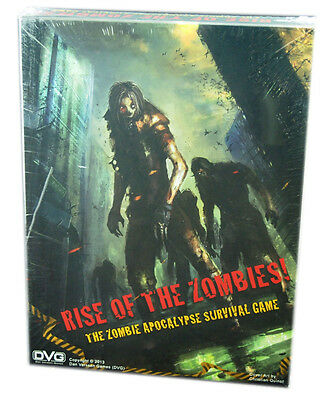 Dan Verssen Games, Rise of the Zombies Board Game, New and Sealed