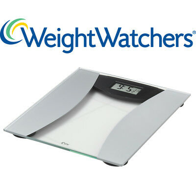 Weight Watchers Ultra Slim Glass Precision Electronic Scale Max Weight 28St 8Lb