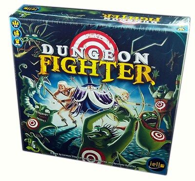 Iello Games, Dungeon Fighter board game, new and Sealed