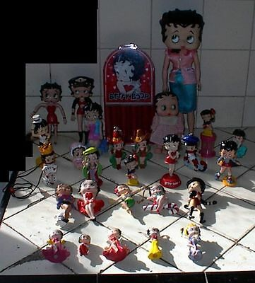 28 Different BETTY BOOP Figures,Dolls,Bank, 1980s-1990s, King Features Syndicate