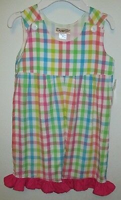 Nwt Size 5 Girls Lolly Wolly Doodle Romper  Easter