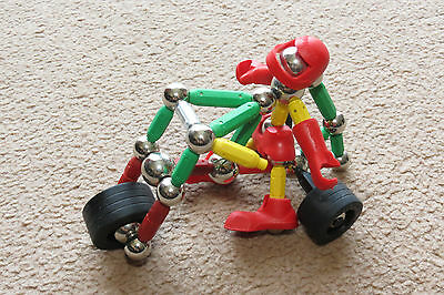 Supermag magnetic toy Motorcyclist figure