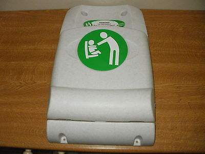 1 off, MAGRINI WALL MOUNTED STAY-SAFE BABY SEATS, Compact fold-away design.