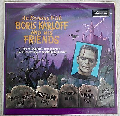 An Evening with Boris Karloff and his Friends Brunswick LP