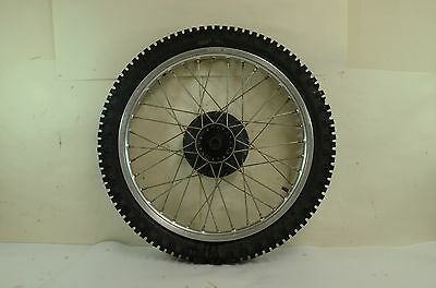 Honda XL250R Front Wheel and Tire 1990